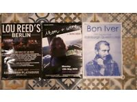 Edinburgh and Glasgow Gig Posters 2006~Present