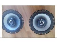 Kenwood 6.5 inch speakers