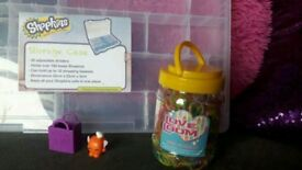 SHOPKINS AND LOOMBANDS WITH STORAGE BOX can be used to store moshi monsters too