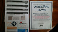 Tickets to Aussie Pink Floyd @ the DTE Energy Music Theatre