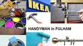 Handyman. Fulham, Chelsea, Hammersmith Areas (£15 per Hour).