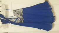 Beautiful Blue Prom/Grad dress size XS