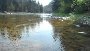 Placer Gold Claim on Similkameen River by Princeton