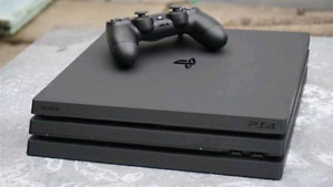 PS4 Pro with 1tb, 6 Games, 1 controller &  hdmi included!
