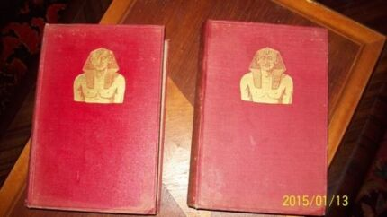 $300 Rare First Edition (1920)  Ancient History Books by Budge Toowong Brisbane North West Preview
