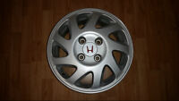 """Set of 15"""" powder coated alloy rims for Honda Accord or Prelude"""