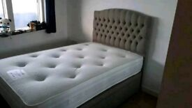 Small Double Ottoman Bed (brand new)