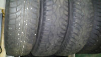 155/80 R13 Winter Tires and Rims - Gislaved Nord-Frost