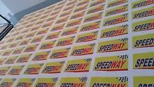 Vinyl Bumper Sticker - Great for advertising your business. Smithfield Parramatta Area Preview