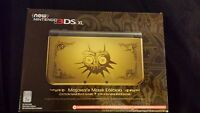3ds new xl  majoras mask brand new  limited