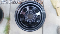 """Nice set of 15"""" Black Wheels with 6x5.5"""" Bolt Pattern --- CHEAP!"""