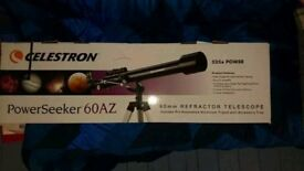Telescope. Celestron powerseeker 60AZ