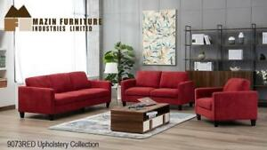 Red Sofa Set on Sale - Lowest Price Gauranteed (BD-2451)