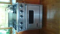 Ultraline Propane Range/Convection Oven $1000