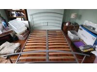 Double Metal Bed Frame Only