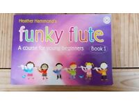 Beginners flute book with CD