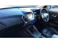 HYUNDAI IX35 2.0 CRDi Premium Panorama 5dr Auto (white) 2014