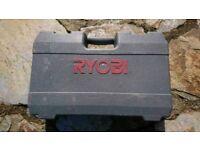 Ryobi drill tool tools case original
