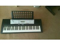 Keyboard ypt200 and accessories
