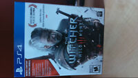 PS4 - Witcher 3 game