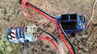 like new traxxas rc  xl5 waterproof motor and esc