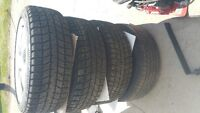 Tires with rims call and make offer.
