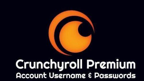 CrunchyRoll Premium account   1 Year Subscription Plan
