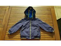 Ted baker baby boys navy coat 18-24 months