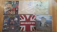 6 The Who lp vinyl records