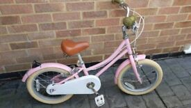 Girls bobbin bike