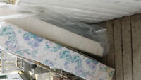 2 queen size box spring matresses- free for the taking