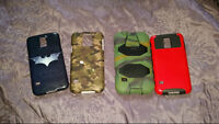 4 cases for Samsung galaxy S5