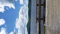 Tomking creek accès lac Memphrémagog en face du mont owlsead