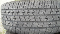 2 Michelin Radial XH4 M+S tires