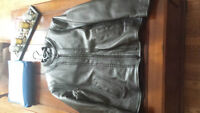 Womans Screaming Eagle Leather jacket