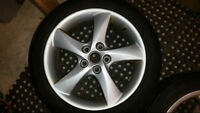 Set of 4 Alloy Wheels for sale
