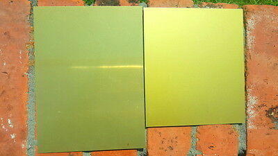 12 X 12 Color Coated Anodized Aluminum Sheet Metal Plate Double Sided .025