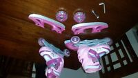Kids adjustable roller/ice skates