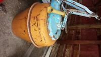 3 point hitch cement mixer