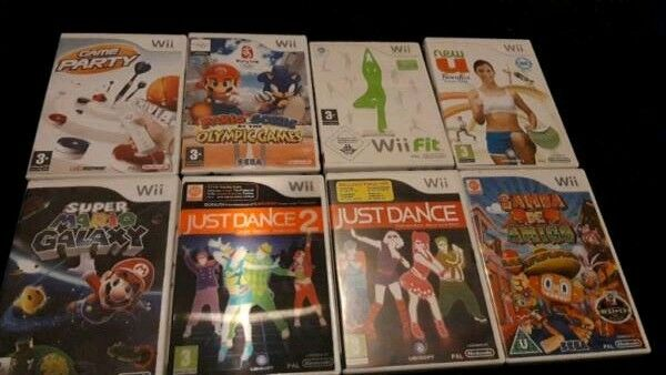 9 Wii Games Wii Fit Mario Just Dance Peppa Pig Etc In Dundee