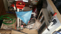 ridgid radial arm saw in good condition.