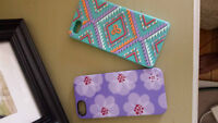 TNA iphone 5 case and purple case