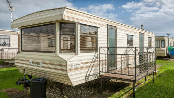 Elegant Caravan For Hire At Seton Sands  In Prestonpans East Lothian