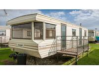 6 berth caravan for hire on coral beach, ingoldmells.