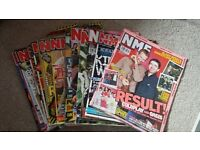 Bundle of NME magazines from 2003 and 2004