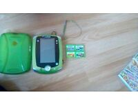 leappad leapfrog 2 with 5 games
