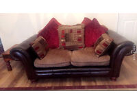 Stylish sofa for sale - average condition with pillow included