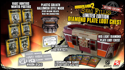 Borderlands 2 Diamond Plate Loot Chest ( New & Factory Sealed ) - Chest Plate