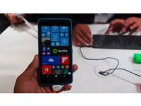 Microsoft Lumia 640 mobile phone, black, 1 year old in very good condition, unlocked for any network