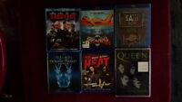 Blu-ray à vendre et un DVD du groupe Queen ÉCHANGE POSSIBLE